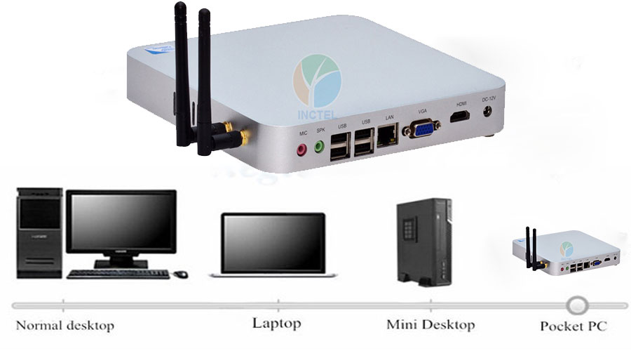 Partaker P2 Intel C1037U Fanless mini pc