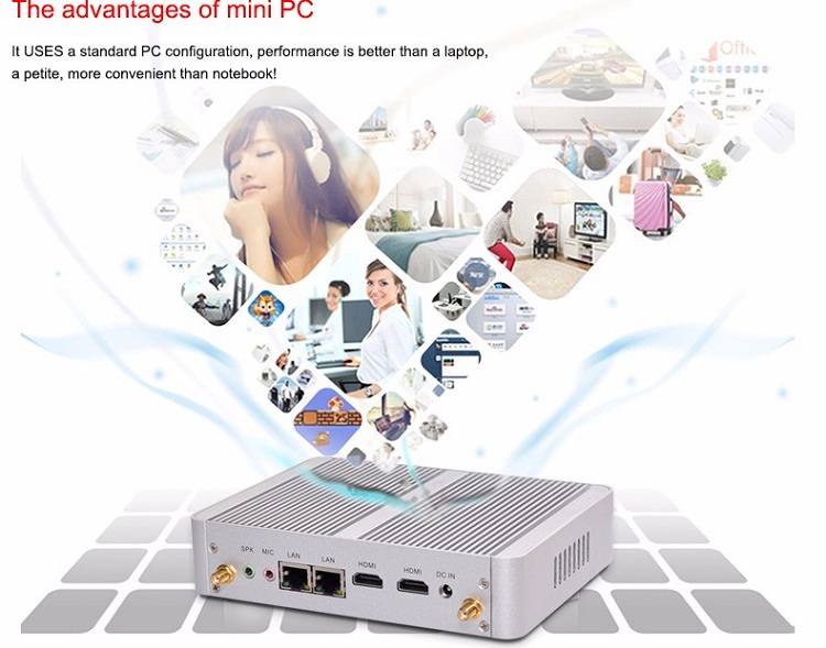 Partaker B5 Fanless PC